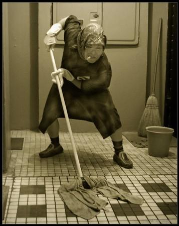 секс с уборщицей фото: