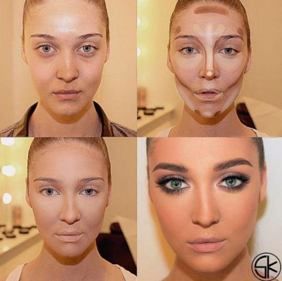 Как правильно сделать макияж самой себе видео